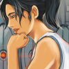 asfreeasleaves: Chell leaning her chin on her hand. (Chell)