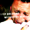 "apollymi: Steve & Danny hugging, text reads ""Stop breaking my fucking heart"" (H50**Steve/Danny: Stop breaking my ❤)"