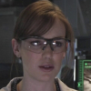 seekingferret: Jemma Simmons wearing proper eye protection. (simmons-goggles)