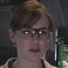 seekingferret: Jemma Simmons wearing proper eye protection. (simmons-goggles)