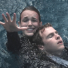 seekingferret: Fitz and Simmons from Agents of SHIELD in the water, grabbing for air. (fitzsimmons-drowning)