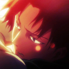 levisx: Levi Ackerman from Attack on Titan with the sun shining on his face (levi)