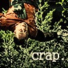 "hyperfocused: Rodney hanging by ankle from tree in ""Runner"" caption reads ""Crap!"" (Crap!)"