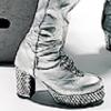 bluestocking79: Glittery Platform Boots (Kinky Boots)