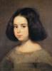 terracotta: (Portrait of a Little Girl by Velazquez)