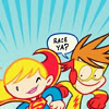 dettiot: (comics tiny flash and tiny supergirl)
