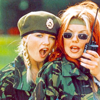 sarken: baby spice and ginger spice in camo ([misc] girl power)