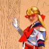 einahpets: my Sailor V cosplay made into art (Sailor V)