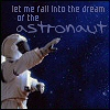 nenya_kanadka: let me fall into the dream of the astronaut (@ astronaut)