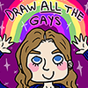 jackymedan: (draw ALL the gays) (Default)