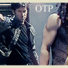 fashes: John Sheppard watches Ronon Dex fight. Ronon's shoulder is very much a focus. (Sheppard/Ronon OTPii!!! ~ icon_ascension)