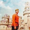 yourlibrarian: Arthur in front of Camelot (MERL-ArthurCastle-andiwould)