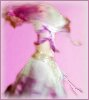 trixieleitz: me in a purple and white bellydance costume, spinning (spinny veil)