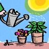 vixy: (watering)