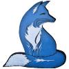 vixy: (blue fox)