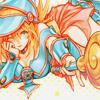 darjeeling: Dark Magician Girl   Yuugiou DM ([ ANIM ] waiting on a magic trick)