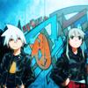 darjeeling: Maka & Soul   Soul Eater ([ ANIM ] twin solar systems orbiting)
