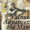rosefox: In 1813, a lending library clerk discusses books with a customer. (valour advances)