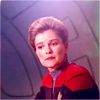 tree: a seated janeway looking contemplative ([voyager] o captain my captain)