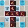 thefourthvine: Scrabble tiles spelling out word whore. (Word whore)
