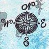 thefourthvine: A compass rose.  (Compass)
