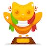 polyglotting: Image of the DuoLingo 'Trophy' for Italian. (DuoLingo: Italian Trophy)