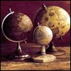 thefourthvine: Three globes.  (three globes)