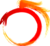 dragonofeternal: an ouroborus fading from red to orange (Default)