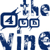 thefourthvine: The 4th Vine in blue letters.  (TFV blue)
