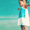 thefourthvine: A little girl with her arms outstretched. (Arms outstretched.)