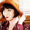 fiercynn: Phryne Fisher [from Miss Fisher's Murder Myteries] (PHRYNE + hat)