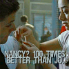 "maryaminx: nancy patching up dean from Jus in Bello, quote ""nancy? 100 times better than jo."" (shipwars)"