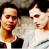 fiercynn: Morgana and Gwen [from Merlin] (Morgana&Gwen in Ealdor)