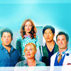 azarsuerte: Most of the team from The Librarians: Jake, Eve, Cassandra, Ezekiel, and Flynn (The LIbrarians - team)