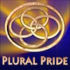 "plural_activism: Interlocked rings with the words ""Plural Pride"" beneath. (Default)"