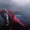 whatfollowsthunder: Thor, carrying on towards his fight despite the harsh environment (Through the storm)