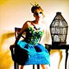jazzymaymay: (peacock lady)