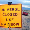 no_detective: (universe rainbow sign - iconomicon)
