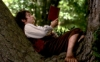 selichan42: Frodo sitting in a tree, reading (pic#9056040)