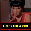 beatrice_otter: Uhura fights like a girl (Fight like a Girl)