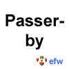 "pauamma: EFW Passerby - black on white (""EFW Passerby - black on white"")"