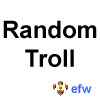 "pauamma: EFW Random troll - black on white (""EFW Random troll - black on white"")"