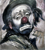 shvil: (clown, sad clown)