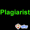 "pauamma: EFW Plagiarist - green on black (""EFW Plagiarist - green on black"")"