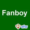 """pauamma: EFW Fanboy - white on green (""""EFW Fanboy - white on green"""")"""
