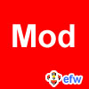 """pauamma: EFW Mod - white on red (""""EFW Mod - white on red"""")"""