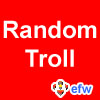 "pauamma: EFW Random troll - white on red (""EFW Random troll - white on red"")"
