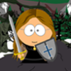 aelfgyfu_mead: Aelfgyfu as a South Park-style cartoon (Aelfgyfu in the Liber Vitae)