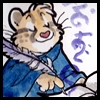 wyld_dandelyon: A cat-wizard happily writing, by Tod (wizard writing)