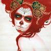 pariker: (red hair kabuki)
